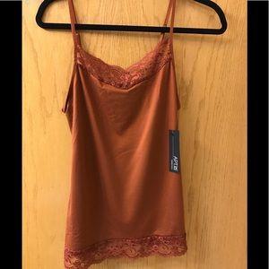 Apt9 rust/brown cami